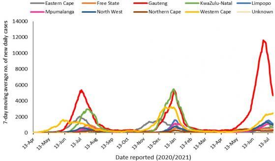 SA Reports 14 858 New COVID-19 Cases